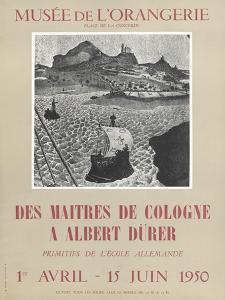 Affiche : Des maîtres de Colognes à Albrecht Dürer