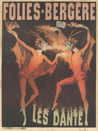 Affiche Folies-Bergères : les Dante--Giclee Print