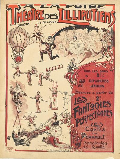 Affiche  la foire théâtre des Lilliputiens--Giclee Print
