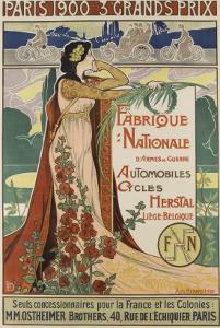 Affiche publicitaire Herstal