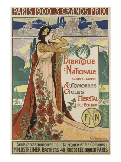 Affiche publicitaire Herstal--Giclee Print