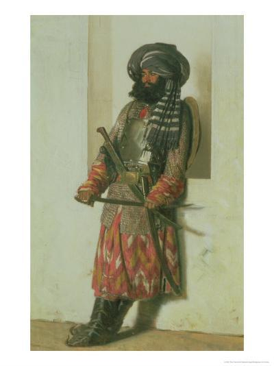 Afghan, 1870-Piotr Petrovitch Weretshchagin-Giclee Print