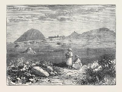 Afghan Sketches: the Ahin Posh Tope and Vihara Near Jellalabad 1879--Giclee Print