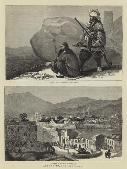 Afghanistan Illustrated--Giclee Print