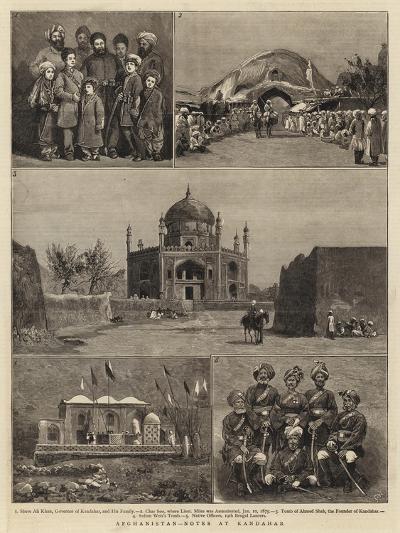 Afghanistan, Notes at Kandahar--Giclee Print