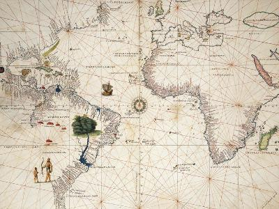 Africa, Europe and Part of Americas, from Atlas of the World in Thirty-Three Maps--Giclee Print