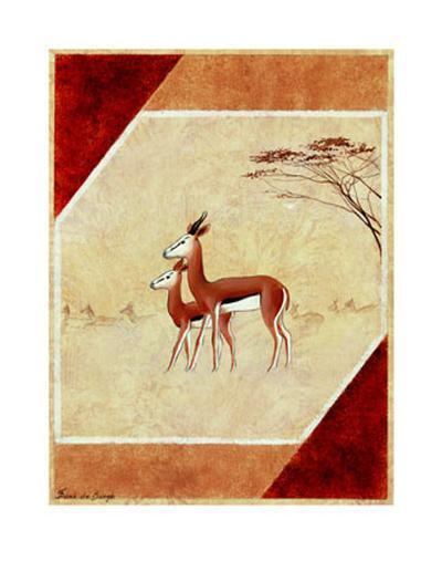 Africa I-Frank De Burgh-Art Print