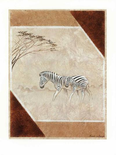 Africa II-Frank De Burgh-Art Print