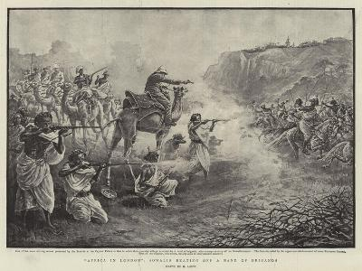 Africa in London, Somalis Beating Off a Band of Brigands-Henri Lanos-Giclee Print