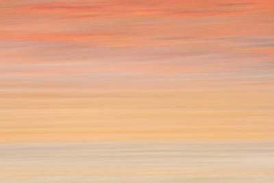 Africa, Namibia. Abstract of Heat Distorting Grassy Plain-Jaynes Gallery-Photographic Print