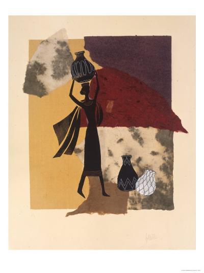Africa, no. 2-Susan Gillette-Premium Giclee Print