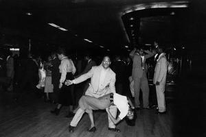 African-American People Dancing Rock 'n Roll