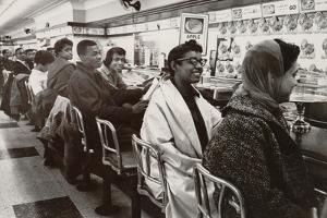 African Americans Sit in at a Lunch Counter in Nashville, Tennessee in 1960