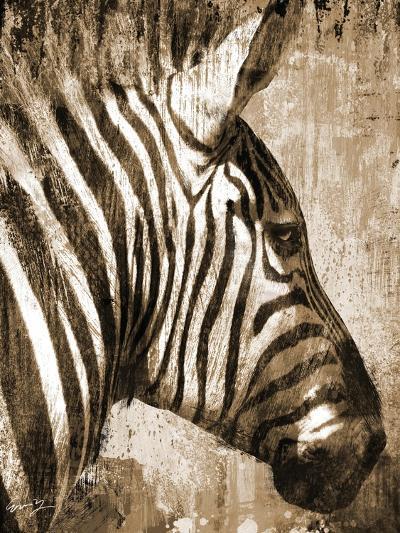 African Animals II - Sepia-Eric Yang-Art Print