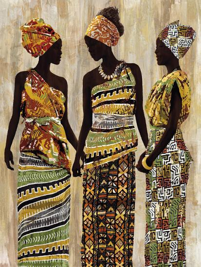 African Beauties-Mark Chandon-Art Print