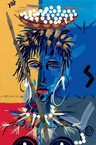 African Beauty 1, 2004-Oglafa Ebitari Perrin-Giclee Print