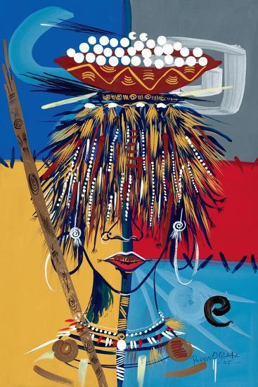 African Beauty 2, 2005-Oglafa Ebitari Perrin-Giclee Print