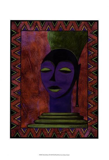 African Beauty II-Renee W^ Stramel-Art Print