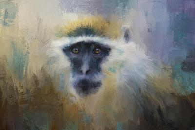 African Grivet Monkey-Jai Johnson-Giclee Print