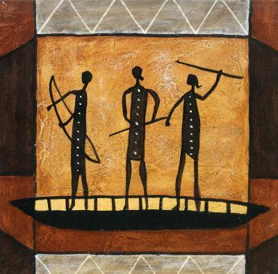 African II-Jerome Obote-Art Print