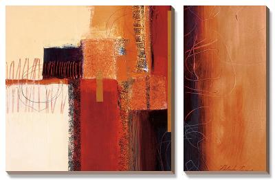 African Jewels I-Natasha Barnes-Canvas Art Set