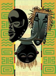 African Masks and Patterns
