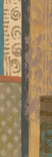 African Panel 1-Alonza Saunders-Art Print
