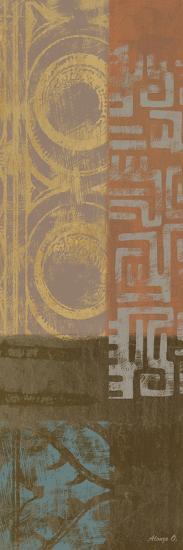 African Panel 3-Alonza Saunders-Art Print