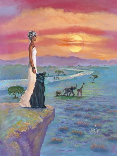 African Queen-Judy Mastrangelo-Giclee Print