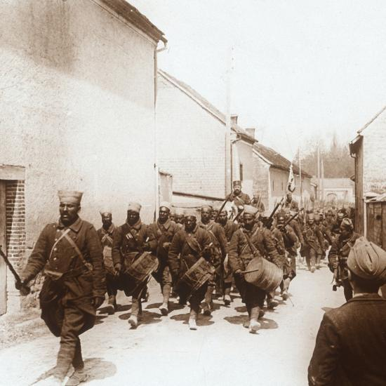African troops, c1914-c1918-Unknown-Photographic Print