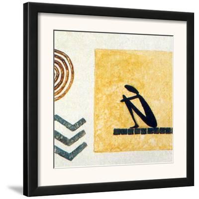 African Tunda I-Jerome Obote-Framed Art Print