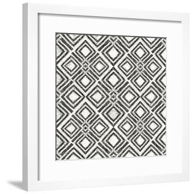 African Wild Pattern IV BW-Wild Apple Portfolio-Framed Art Print