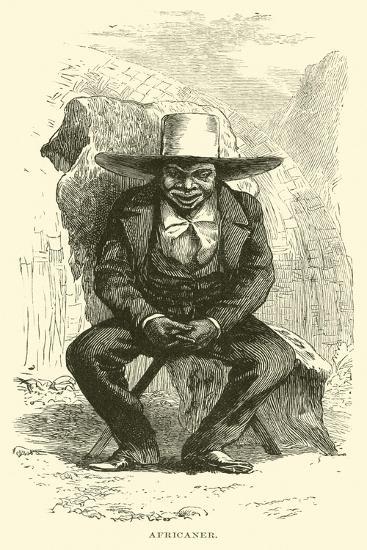 Africaner--Giclee Print