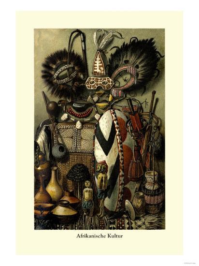 Afrikanische Kultur--Art Print