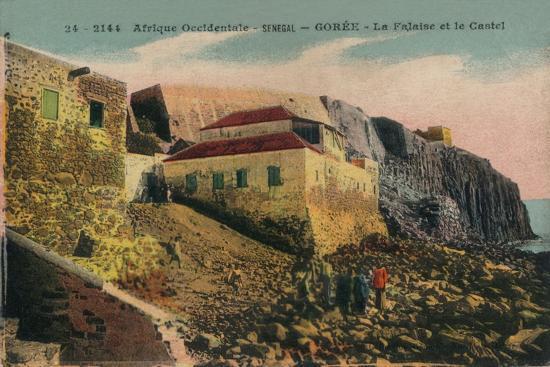 'Afrique Occidentale -Senegal - Gorée - La Falasise et le Castel', c1900-Unknown-Giclee Print