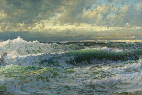 After a Gale, 1903-William Trost Richards-Giclee Print