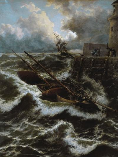 After a Stormy Night-Thomas Rose Miles-Giclee Print