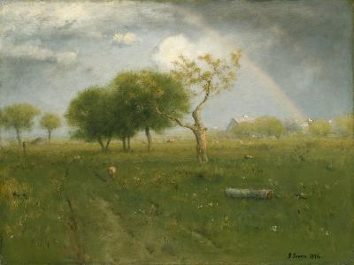 After a Summer Shower, 1894-George Inness Snr.-Giclee Print