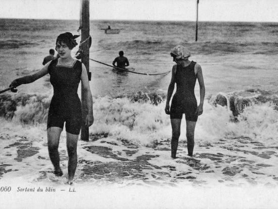 After a Swim--Photographic Print
