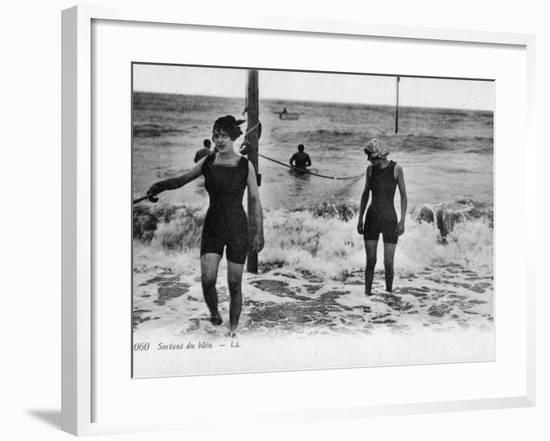 After a Swim--Framed Photographic Print