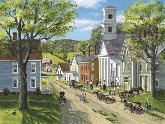 After Church-Bob Fair-Giclee Print