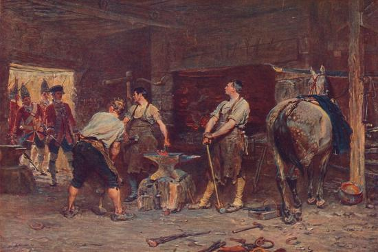 'After Culloden: Rebel Hunting', 1905-Unknown-Giclee Print