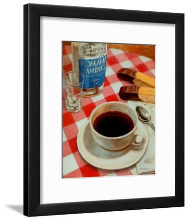 After Dinner Drink-David Marrocco-Framed Art Print