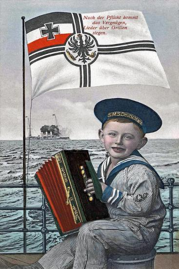 """""""After Duty Comes Pleasure..."""", 1915--Giclee Print"""