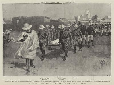 After Omdurman, the Funeral of the Honourable Hubert Howard--Giclee Print