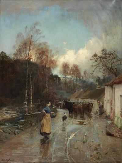 After Rain, 1889-1892-Niels Moller Lund-Giclee Print