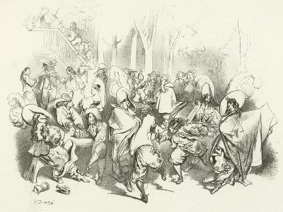After Richelieu's Decree Against Duelling-Gustave Dor?-Giclee Print