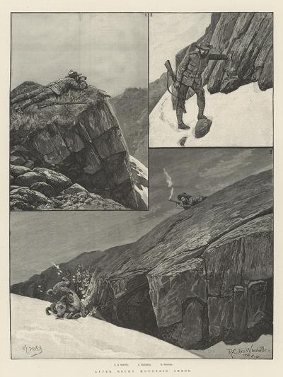 After Rocky Mountain Sheep-Richard Caton Woodville II-Giclee Print