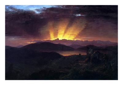 After the Annealing-Frederic Edwin Church-Art Print