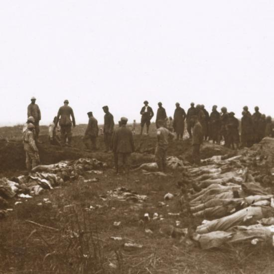 After the attack, Dompierre, Northern France, c1914-c1918-Unknown-Photographic Print
